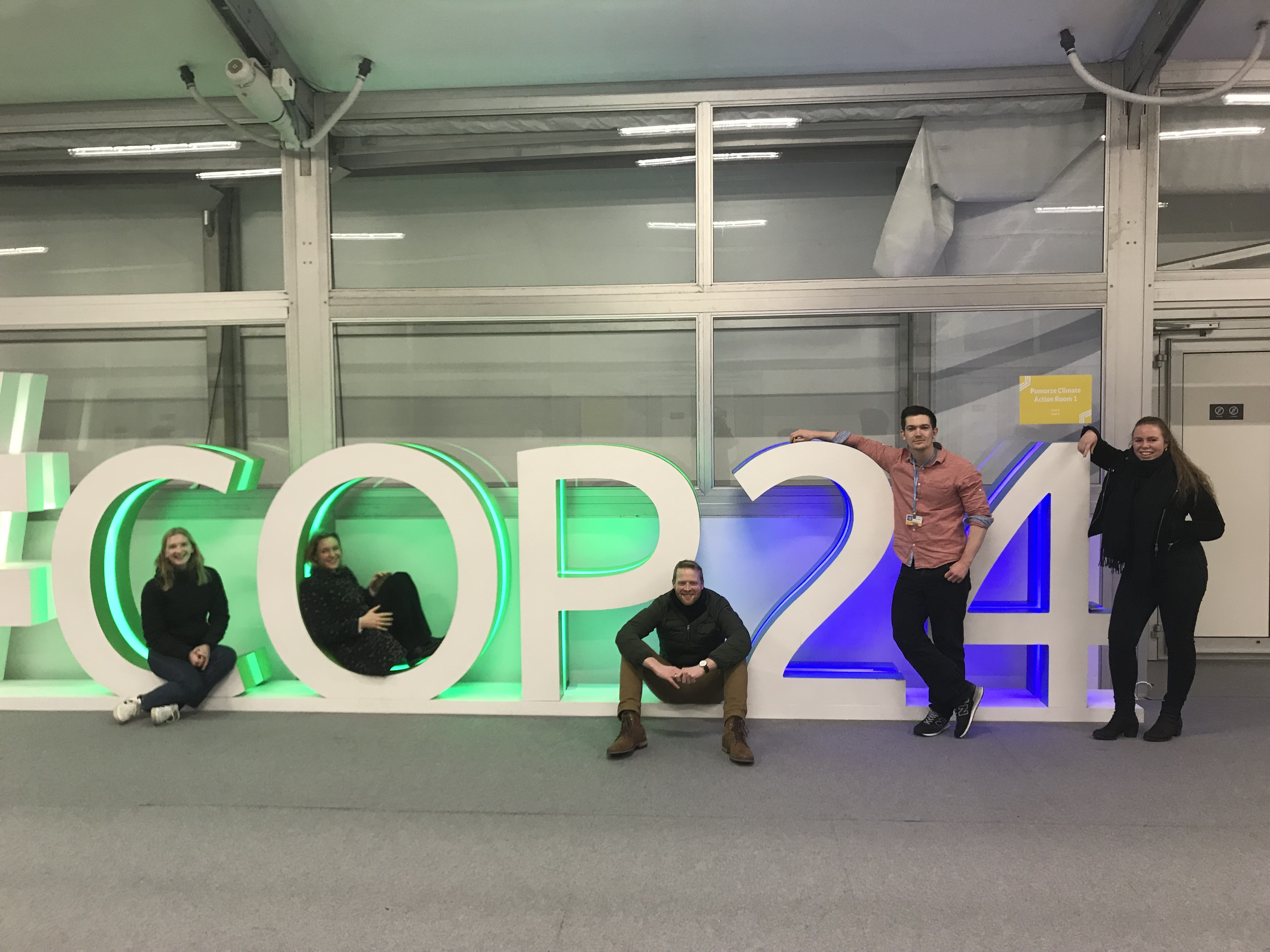 Flere ForUM-medlemmer deltok på klimatoppmøtet i Katowice.