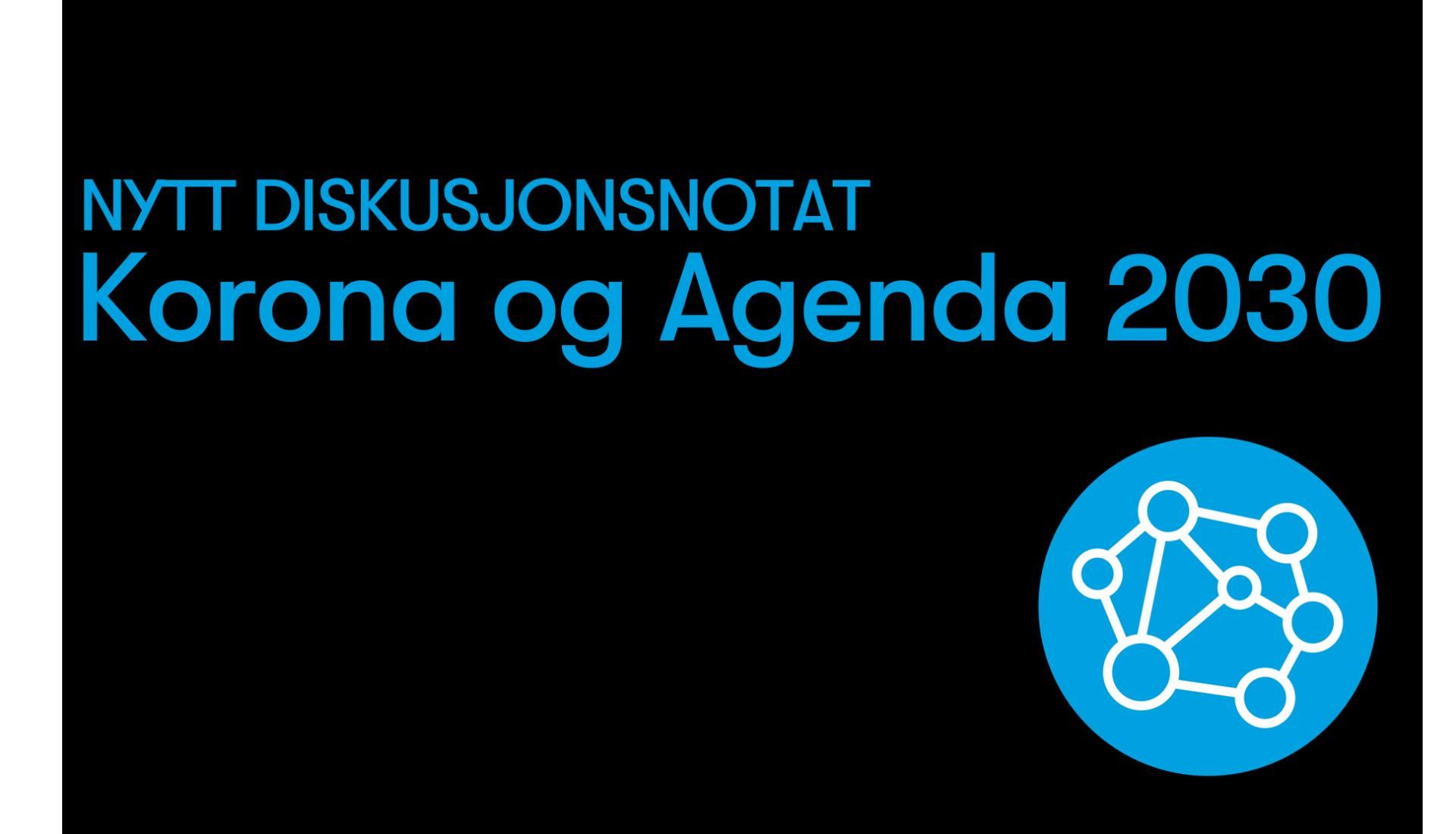 Korona og Agenda 2030