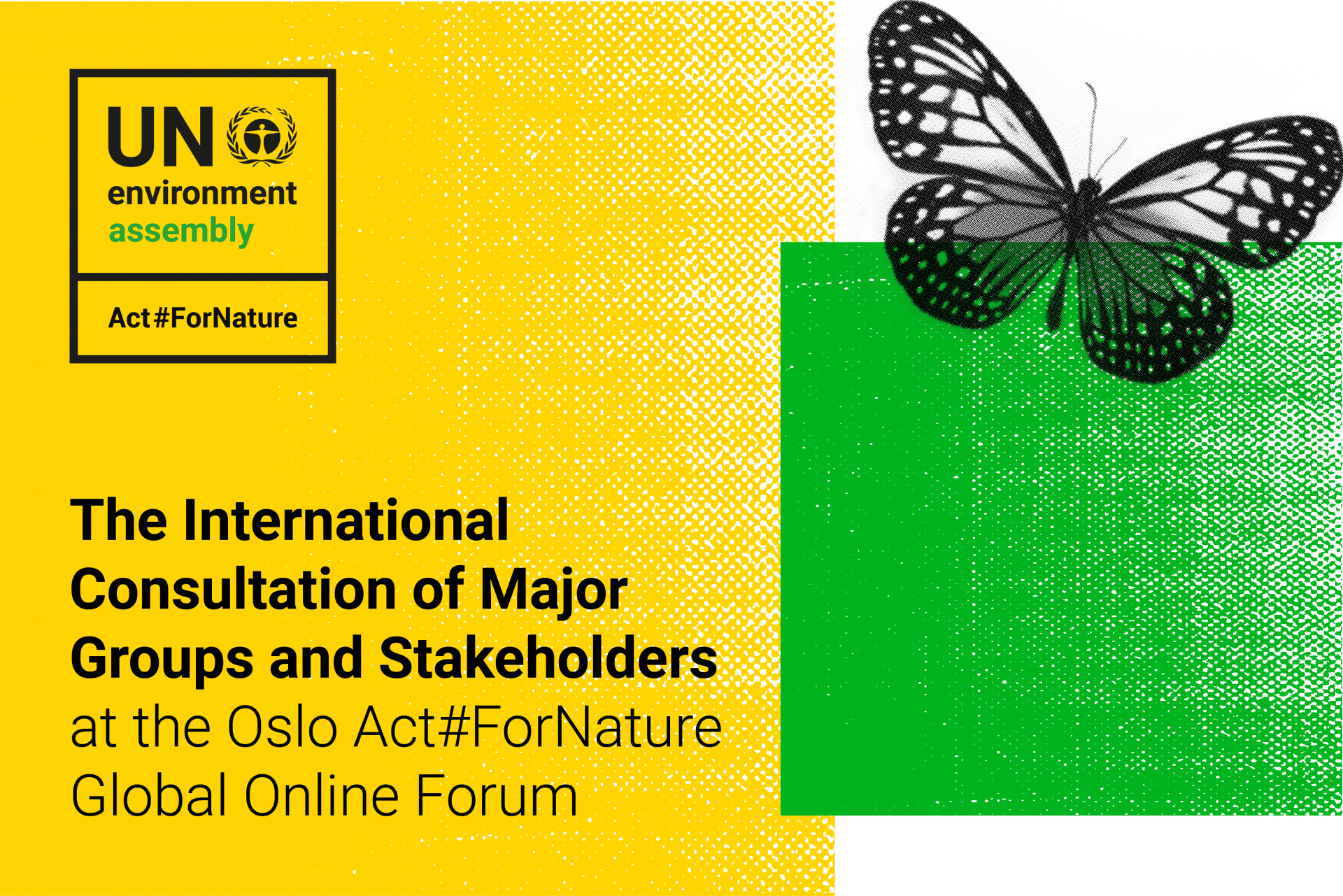 Watch the live stream from the global consultation on environment here