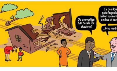 Fem kjappe om tap og skade relatert til klimaendringene