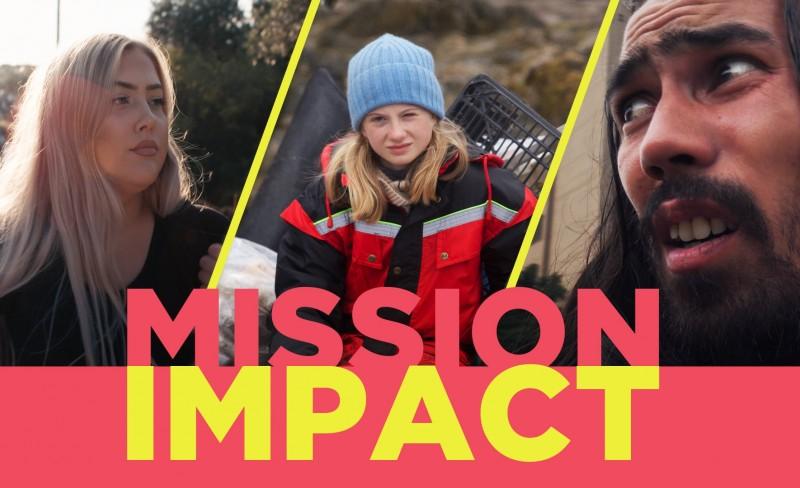 MISSION IMPACT: ÅRETS VIKTIGSTE SERIE LANSERES 2. APRIL