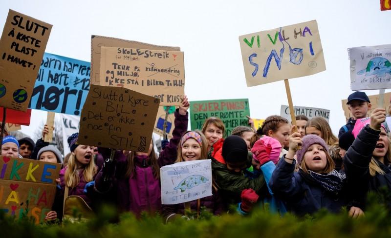 Barn er aller mest sårbare for konsekvensene av klimaendringene
