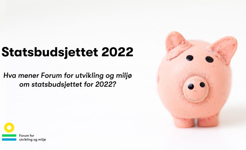Solberg-regjeringens siste budsjett svikter bærekraftsmålene