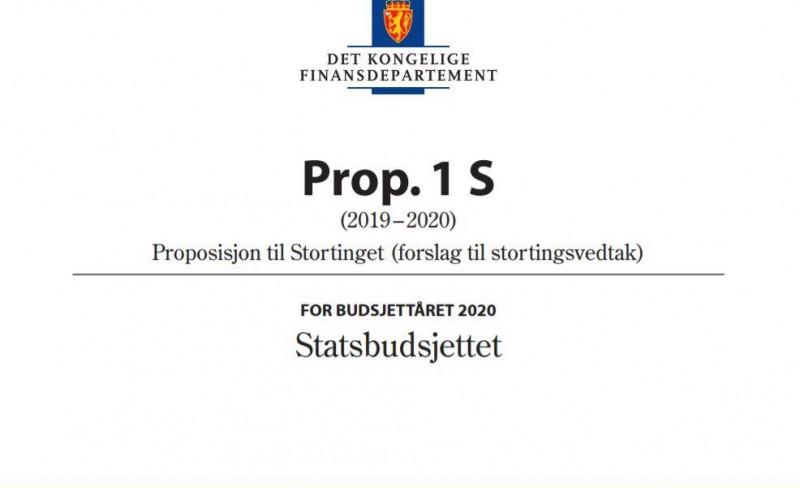 Uambisiøst budsjettforslag