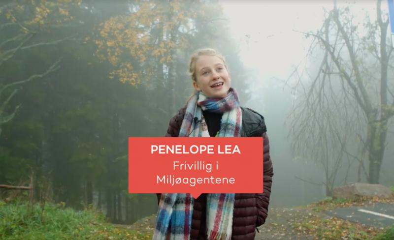 Penelope Lea blir yngste vinner av frivillighetsprisen noensinne!