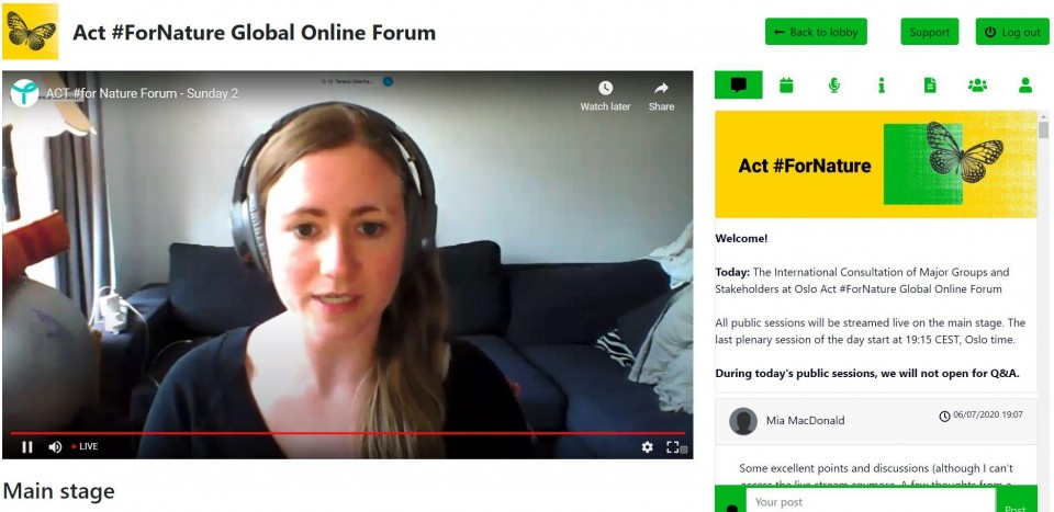 Civil society from all over the world gathered online to demand a just and sustainable COVID-19 recovery