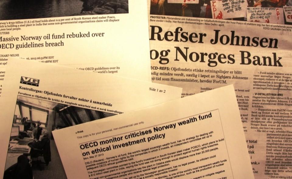 OECD hardt ut mot Oljefondet og Norges Bank
