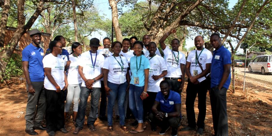 Støtter ungdom mot klimaendringer