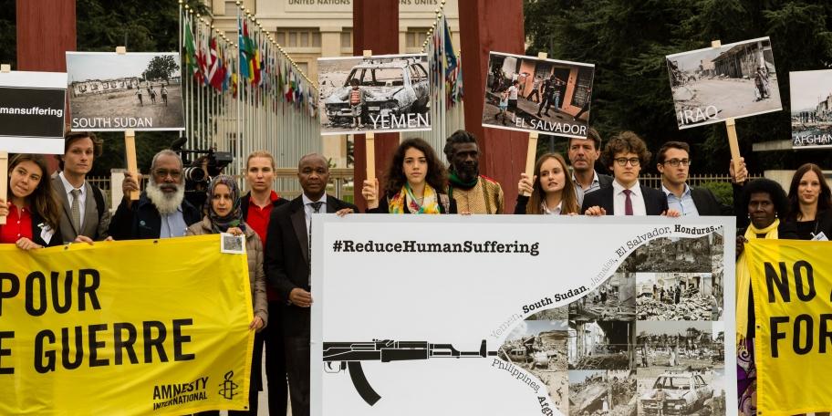 Innspill til Arms Trade Treaty statspartkonferanse, 2018