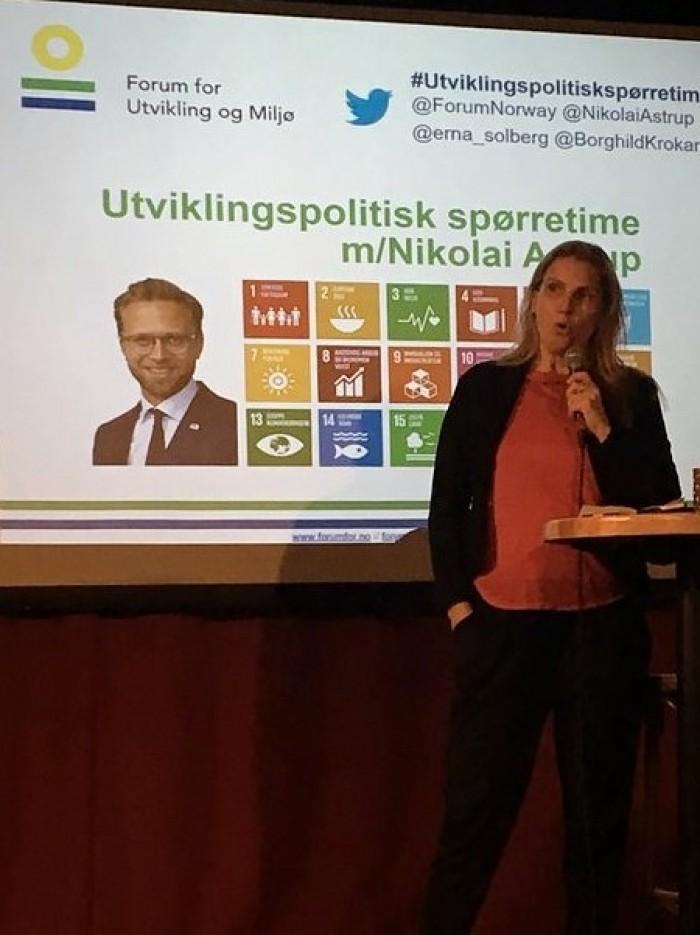 Borghild På Årsmøtet 2018 Lite
