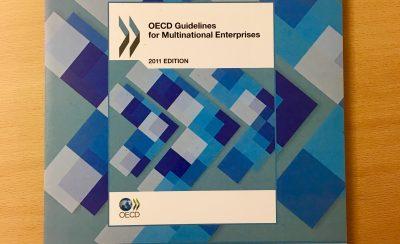 OECDs retningslinjer for flernasjonale selskaper