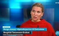 Norge stanser våpeneksport til Emiratene